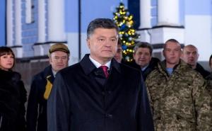 Петр Порошенко, 2016, поздравление, видео, Украина, новогоднее обращение