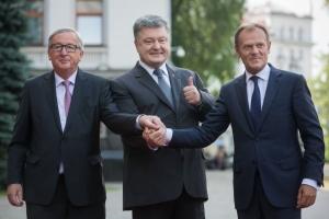Петр Порошенко, Саммит Украина - Европейский Союз, Вступительная речь, Безвизовый режим