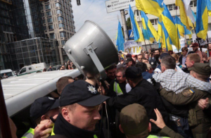 Украина, Киев, Митинг, Потасовка, Протест, Суд, Нацкорпус, БПП.