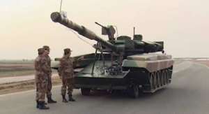 Россия Китай армия скандал танками Т-90