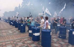 украина, верховна рада, акция протеста, неприкосновенность, скандал