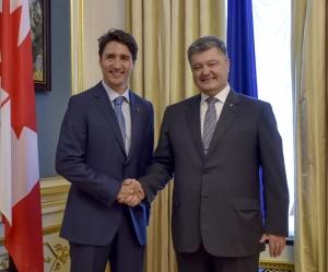 Порошенко, Джонстон, Трюдо, Канада, политика, 150 лет, общество, Украина