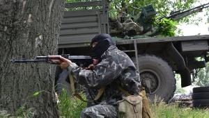 Луганск, АТО, украинская армия,ЛНР, боевики, центр, бои