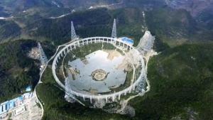 телескоп FAST, быстрые радиовсплески, КНР, Китай, новости, наука, техника, сигналы от инопланетян