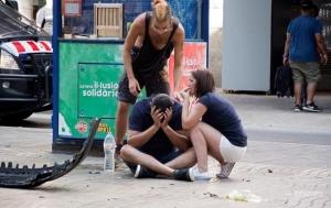 испания, теракт, барселона, игил, раненые, полиция
