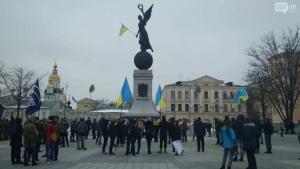 Украина, Харьков, Проезд, Метро, Митинг, Протест.
