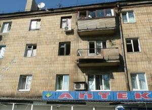 Донецк, АТО, окна, ударная волна, обстрел