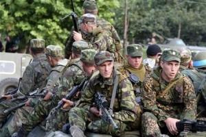 Ясиноватая, Донбасс, АТО, военные, отошли, мирные жители