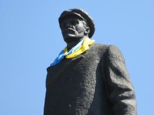 памятник Ленину, политика, общество, Украина, Славянск, Кириленко