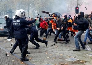 Афины, студенты, общество, происшествие, инцидент, марш