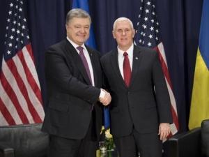 Украина, Порошенко, Трамп, политика, общество, Пенс, Вашингтон, визит Порошенко в США