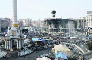 Киев, Евромайдан, Виталий Кличко, Петр Порошенко