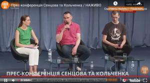 Украина, политика, россия, обмен пленных, Сенцов и Кольченко  онлайн-трансляция видео