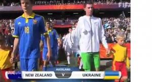 футбол, сборная украины, новой-зеландии