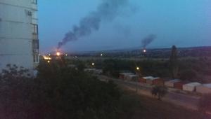хутор широкий, днр, юго-восток, пожар, обстрел