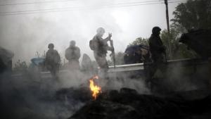 Пески, бои, Донецк, ДНР, украинская армия