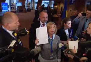 новости, Украина, Береза Борислав, Скабеева, Геращенко, ПАСЕ, конфликт, Кадыров, пощечина, скандал