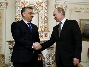 путин, орбан, турецкий поток, россия, венгрия, трубопровод, украина
