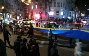 Украина, Харьков, годовщина, майдан, революция, госпереворот, Порошенко, Киев, автомайдан