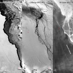 природа, НАСА, айсберг