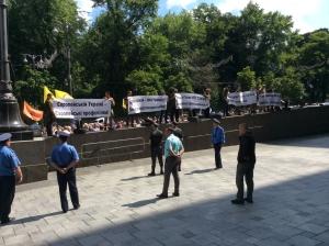 киев, митинг, происшествия, кабинет министров, чернобыльцы