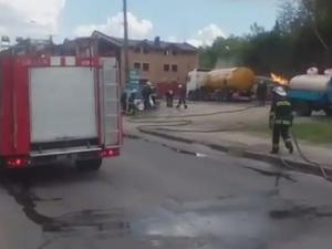 новости украины, чп в виннице, взрыв на азс в виннице