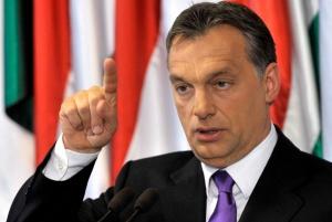 орбан, венгрия, демонстранты