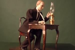 Путин, фигурка, механизм, аукцион, торги, Германия