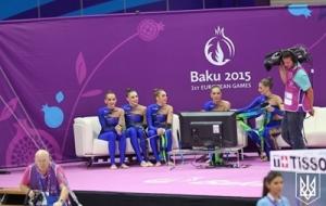 баку 2015, европейские игры, художественная гимнастика, сборная украины