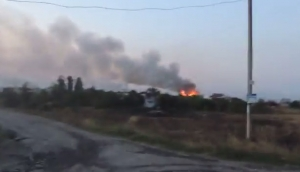 хрящеватое, луганск, ато, последствия, бои, поселок, пожар