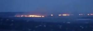 луганск, ночной бой, пожар, ато