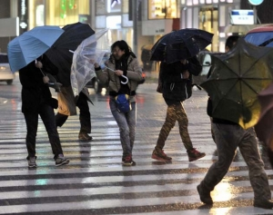 Япония, тайфун, Халон