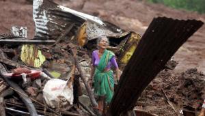 Индия, оползни, происшествия, жертвы
