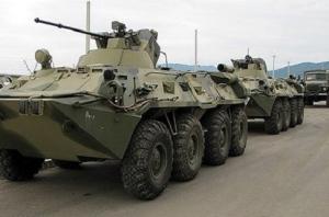 Россия, Украина, БТР, конвой, вторжение