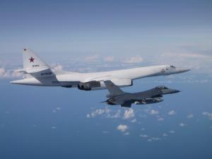 новости, НАТО, Балтийское море, перехват, ВВС Бельгии, российские военные самолеты, Ту-160, Су-27, фото, инцидент