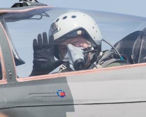 Петр Порошенко, Истребитель МиГ-29, День ВВС Украины, Полет, Президент