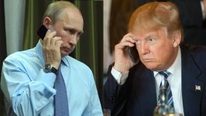 Россия, США, Телефонный разговор, Владимир Путин, Дональд Трамп, Сирия, украина, кндр
