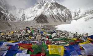 эверест, лавина, непал, альпинисты