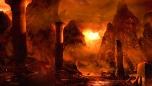 происшествия, змея, конца, света, хаос, вулканов, картину, ад, манускрипты, попасть, мир, дьявол