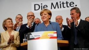 германия, выборы, парламент, меркель, макрон, ес