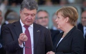 украина, порошенко, меркель, россия, путин, нормандская четверка, переговоры, минские соглашения