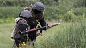 Марьинка, Донецк, АТО, ДНР, батальон Донбасс