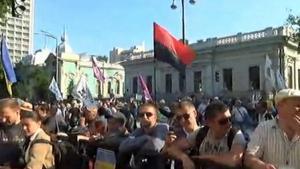 киев, акция протеста, происшествия, мвд, украина, новости, политика, шины, общество, верховная рада