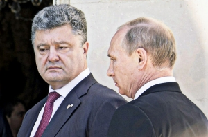 путин, порошенко, встреча, судьба, восток украины