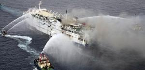 кораблекрушение, греция, италия, адриатическое море, паром Norman Atlantic, происшествие, общество, видео