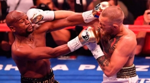 мейвезер, бокс, поединок, нокаут, бой, видео, фото, раунд, макгрегор