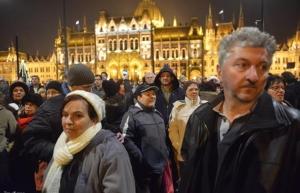 митинг в будапеште, россия, венгрия ,виктор орбан ,политика, общество, экономика, владимир путин,