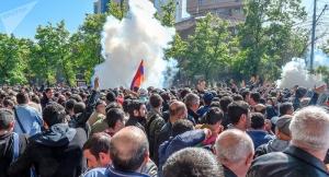 армения, ереван, протесты, полиция, политика