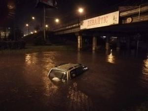 ивано-франковск, непогода, буря, дождь. град, ненастье