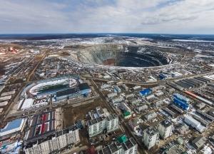 алмазный рудник, россия, мирное, прорыв воды, шахтеры, авария, происшествия, чп, вода, новости россии